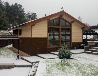 Дом с сауной 60 кв.м.